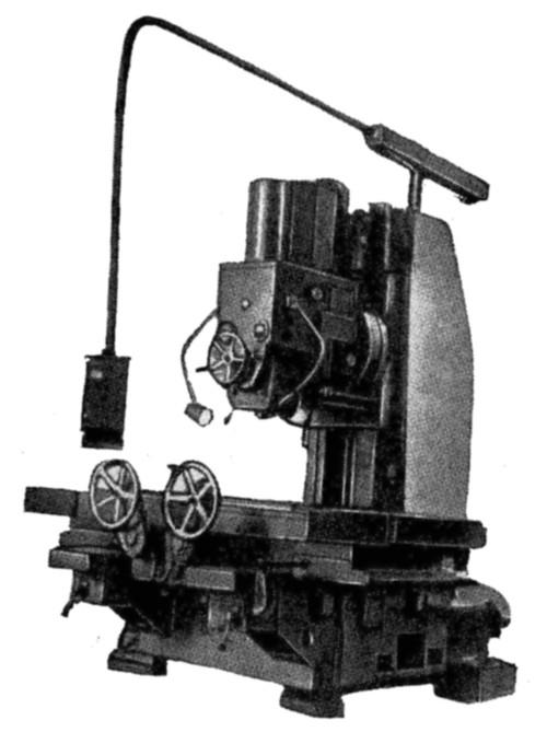 Специальный вертикально-фрезерный станок 654СЗ