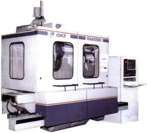 Вертикально-фрезерный станок с ЧПУ и автоматической сменой инструмента MA-655BC