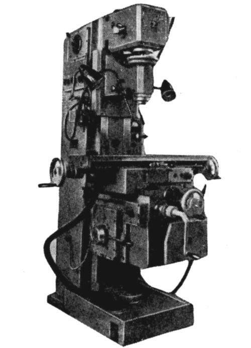 Специальный вертикально-фрезерный консольный станок ВФ-87