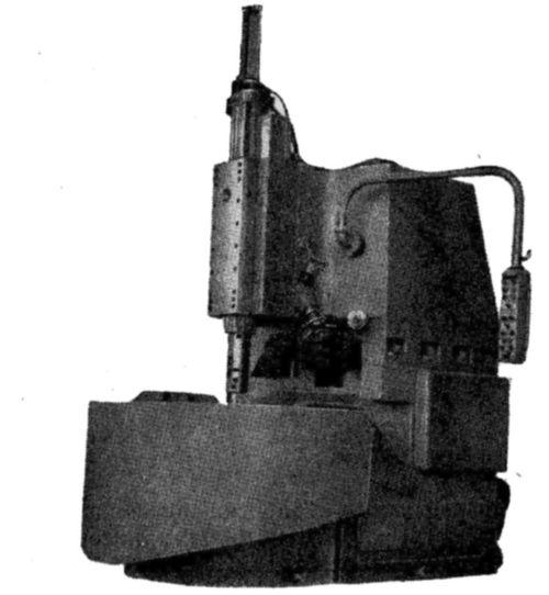 Специальный токарно-карусельный одностоечный станок 150Ш