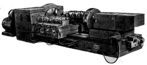 Специальный слиткоразрезной станок 18А65