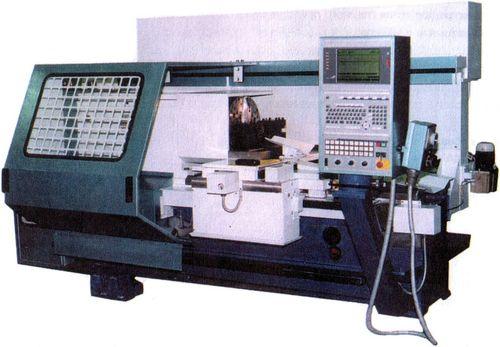 Специальный трубонарезной станок с ЧПУ РТ772Ф3